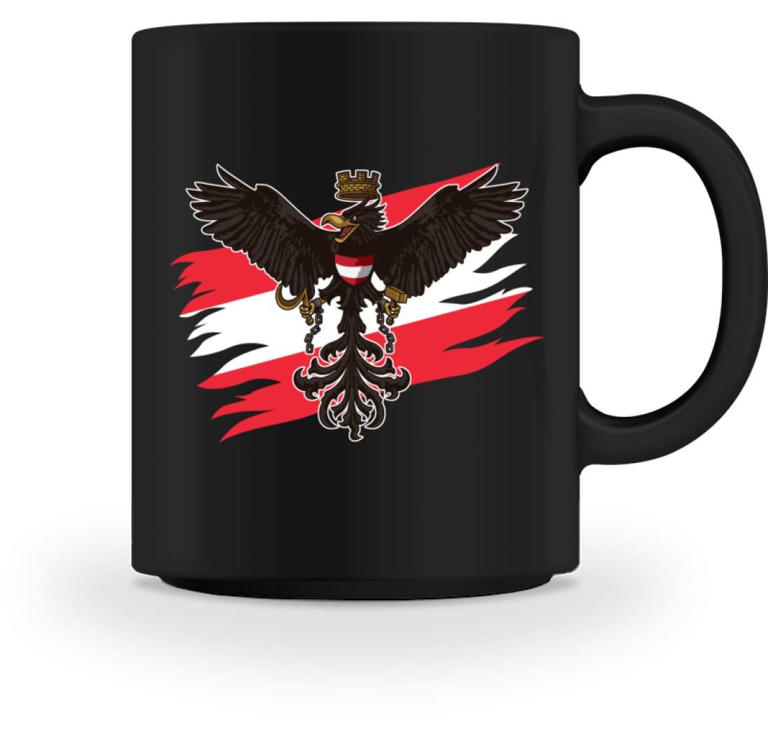 TASSE Kaffeetasse  Österreich Fussball Fahne